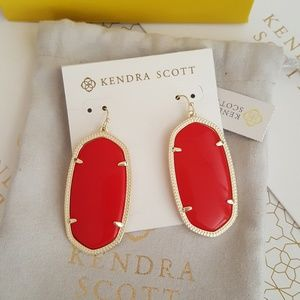 Kendra Scott Bright Red Danielles
